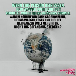 Welt vergiften